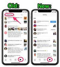 FItur instagram tab following