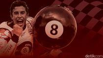 Marc Marquez di Mata Rider-rider Top MotoGP