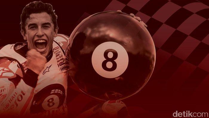 Marc Marquez sudah punya delapan gelar juara dunia dalam usia 26 tahun (Fauzan Kamil/detikSport)