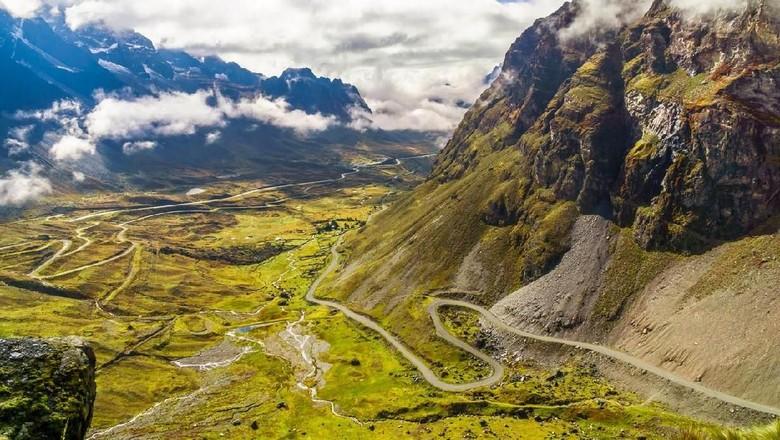 Death Road di Bolivia (iStock)