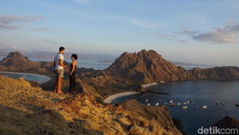 Keindahan Pulau Padar. (Foto: Ahmad Masaul Khoiri/detikcom)