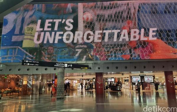 Hamad International mendapat skor 77,66 menjadikannya pengalaman singgah bandara terbaik ketujuh. Visi bandara ini adalah untuk budaya menjadi bagian sentral dan memperkaya lingkungan kita. (Ardan Adhi Chandra)