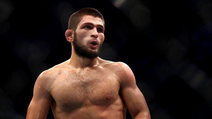 Petarung UFC Khabib Nurmagomedov. (Foto: Francois Nel/Getty Images)