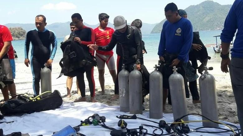 Wilayahnya Berbatasan dengan Laut, Polres Trenggalek Latih Anggota Menyelam