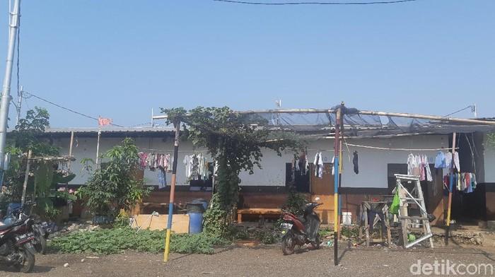 Kampung Akuarium dipotret pada Rabu (9/10/2019). (Laras Devi Rachmawati/detikcom)