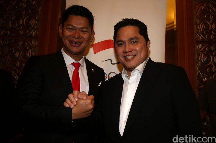 Pemilihan Okto-Warih sebagai ketua dan wakil ketua KOI dalam Kongres Pemilihan KOI yang berlangsung di Hotel Ritz Carlton, Mega Kuningan, Rabu (9/10/2019).