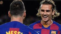 Rumor Konflik Messi dan Griezmann Cuma Dibesar-besarkan