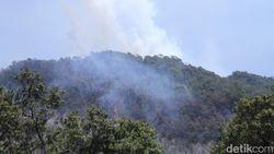 Helikopter Bom Air Dikerahkan untuk Padamkan Api di Kawah Putih