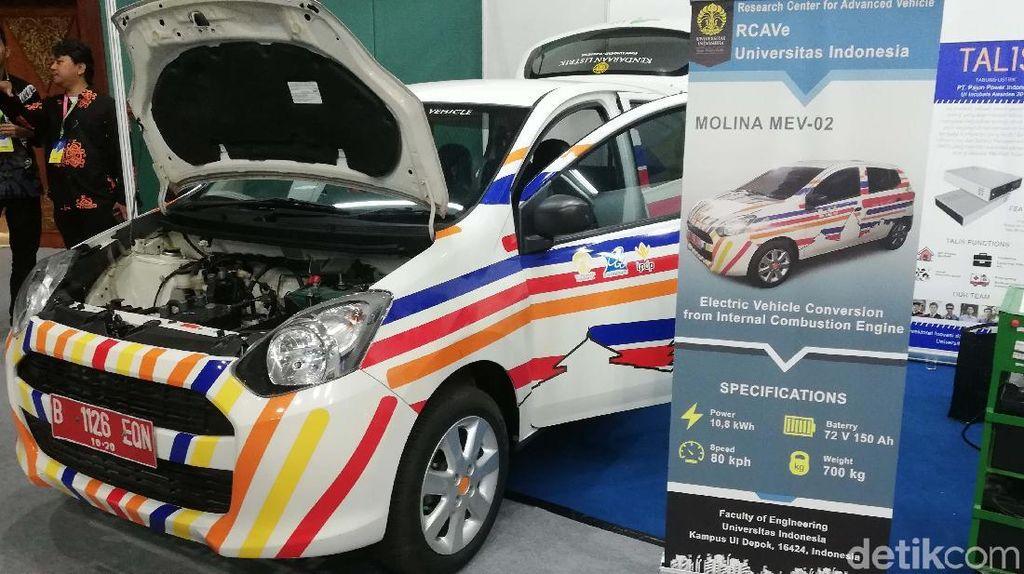 Bukti Mobil Biasa Bisa Dikonversi Jadi Mobil Listrik