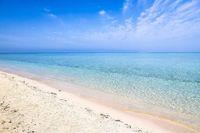Pantai pasir putih dan air laut nan jernih (Twitter)