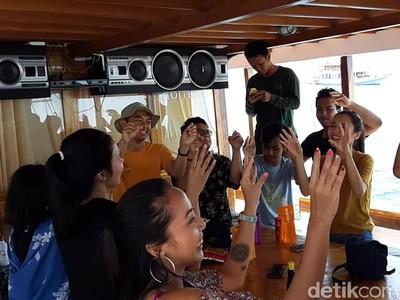 Live on Board di Labuan Bajo Pecah berkat Lagu Merakyat