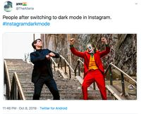 Viral! Instagram Dark Mode & RIP Meme