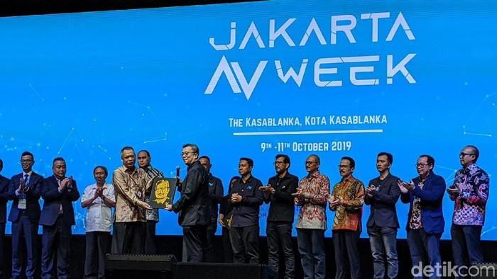 Pembukaan Jakarta AV Week (Agus Tri Haryanto/detikInet)