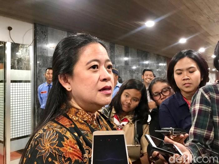 Foto: Ketua DPR Puan Maharani. (Mochammad Zhacky/detikcom)