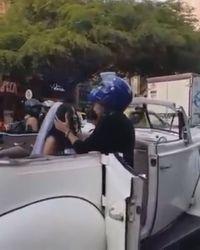 Viral Pria Cegat Mobil Mantan Pacar yang Mau Nikah, Endingnya Miris