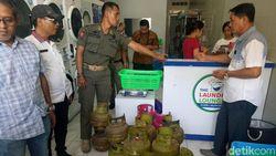 Sidak Rumah Makan-Usaha Laundry, Pemprov Sulsel Temukan 53 Elpiji Subsidi