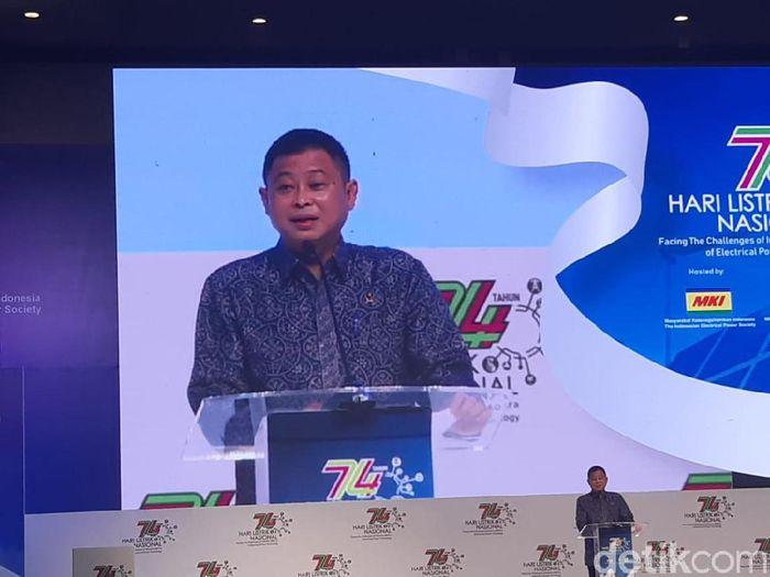 Foto: Menteri ESDM Ignasius Jonan (Achmad Dwi Afriyadi/detikcom)