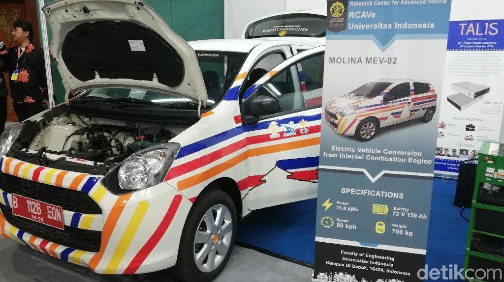 Daihatsu Salut UI Bisa Ubah Ayla Jadi Mobil Listrik