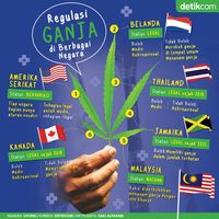 Sama-sama Dipidana karena Ganja, Ini Beda Kasus di Malaysia Vs Indonesia