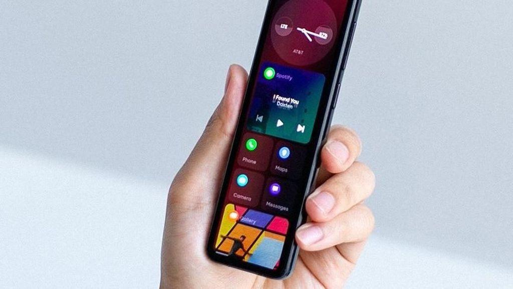 Bentuknya Aneh, Ponsel Baru Bapak Android Bikin Heran
