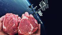 Pertama di Dunia! Daging Ini Diproduksi di Luar Angkasa