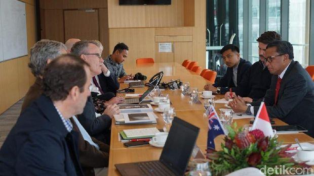 Gubernur Sulsel Nurdin Abdullah Kunker ke Australia