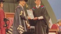 Wisuda Kaesang Dihadiri Presiden dan Menteri Pendidikan Singapura