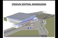 Desain Stasiun Manggarai yang Mau Gantikan Gambir di 2021