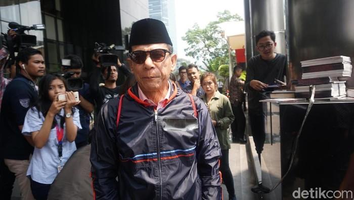 Rizal Djalil usai jalani pemeriksaan (Ibnu-detikcom)