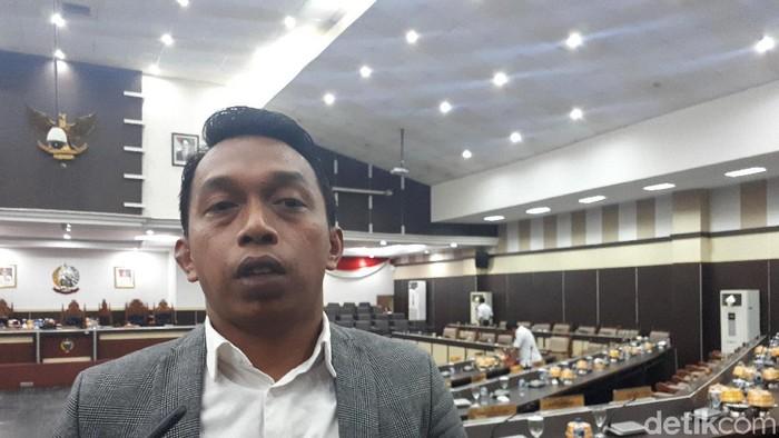 Wakil Ketua DPRD Sulawesi Selatan (Sulsel) Syaharuddin Alrif  (Foto: Noval/detikcom)