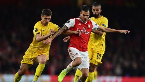 Dani Ceballos bahagia di Arsenal.
