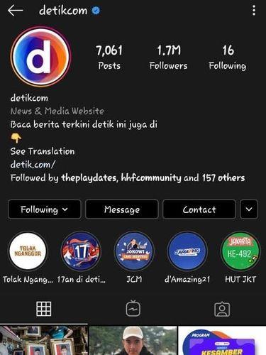 Instagram Dark Mode di Android