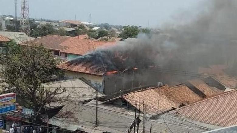 SMK Teknologi Assalam Bekasi Kebakaran, Diduga Akibat Korsleting