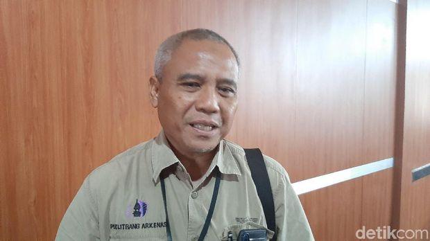 Kepala Arkeologi Sumsel Budi Wiyana