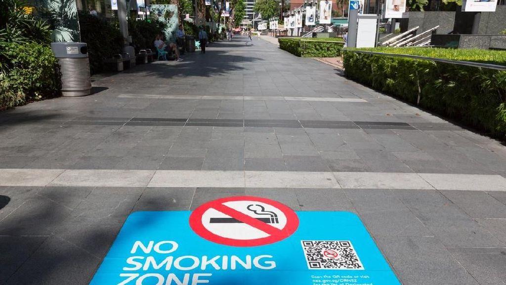 Cegah Corona, Pemerintah Spanyol Larang Warga Merokok di Jalan Umum