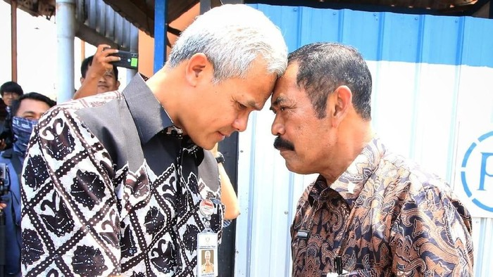 Foto ilustrasi: Gubernur Jateng Ganjar dan Wali Kota Solo Fx Hadi Rudyatmo (Istimewa)