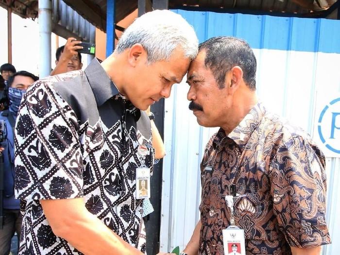 Ganjar Pranowo dan FX Hadi Rudyatmo beberapa waktu lalu. Foto: Istimewa
