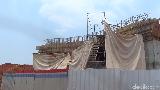 Penampakan Struktur Terowongan Tol Desari yang Ambruk
