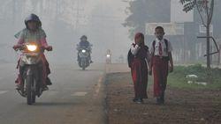 Udara Jambi Memburuk, Jam Masuk Sekolah Mundur dan Olahraga Ditiadakan