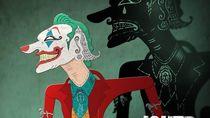 Kreasi Is Yuniarto di Wayang Kulit Joker dan Gundala