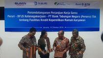 BPJS Ketenagakerjaan dan BTN Bangun Perumahan untuk Pegawai Peruri