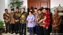 Pimpinan MPR Temui Megawati, Perwakilan dari NasDem Tak Terlihat