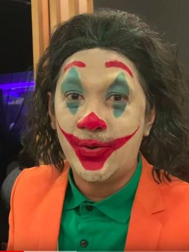 Jadi Joker, Anak-anak Kabur Lihat Andre Taulany