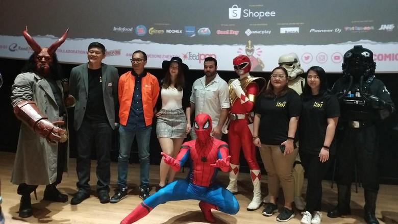 Indonesia Comic Con 2019 Foto: Tia Agnes