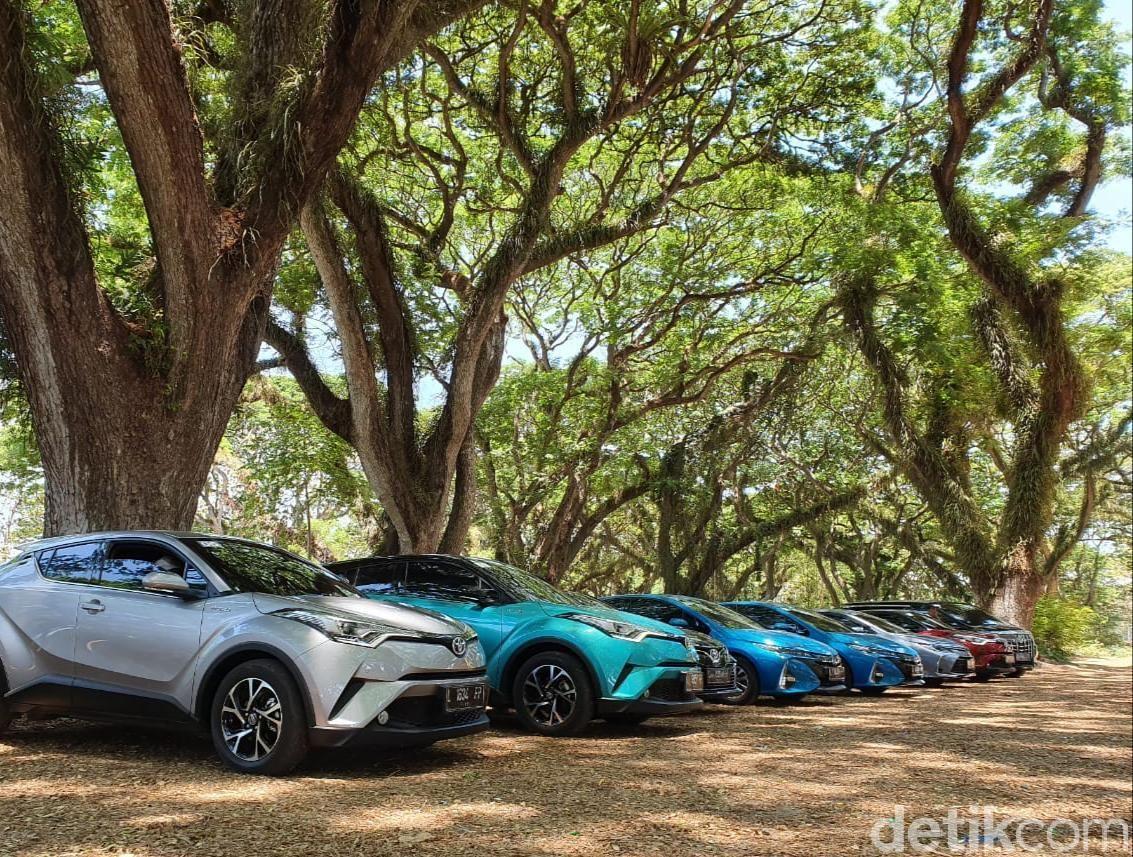 Segini Penjualan Mobil Ramah Lingkungan Toyota
