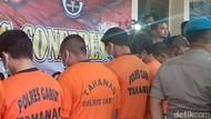 Jual Motor Curian di Medsos, 4 Pemuda Garut Ditangkap