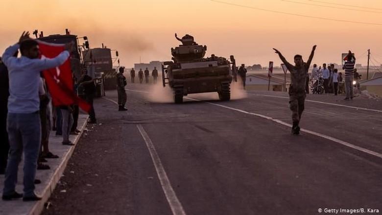 Picu Krisis Kemanusiaan, Uni Eropa Kecam Serangan Militer Turki di Suriah