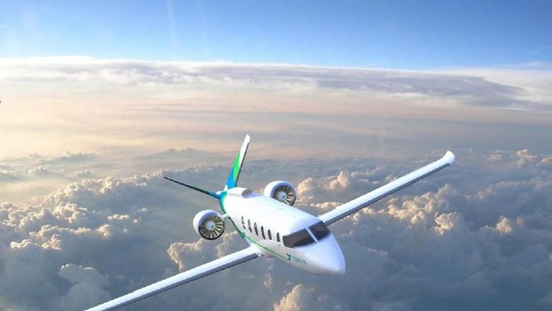 Pesawat listrik yang sedang digarap Zunum Aoero, pabrikan pesawat dari AS (Zunum Aero)