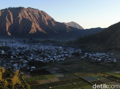 Foto Drone: Sembalun Lombok Begitu Damai