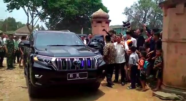 Toyota Land Cruiser Prado, Saksi Bisu di Penusukan Wiranto